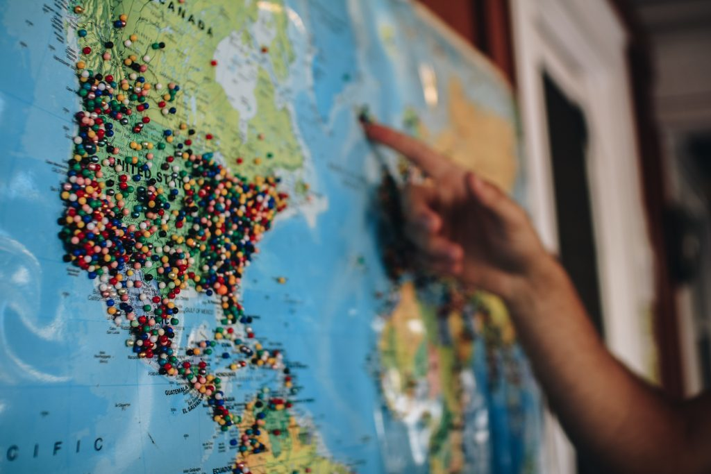 Begin met exporteren - gebruik het Export Business Model Canvas