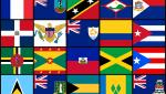 Multiple Caribbean Flags